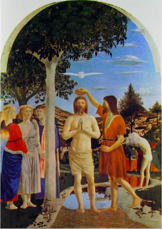 PIERO DELLA FRANCESCO Baptism
