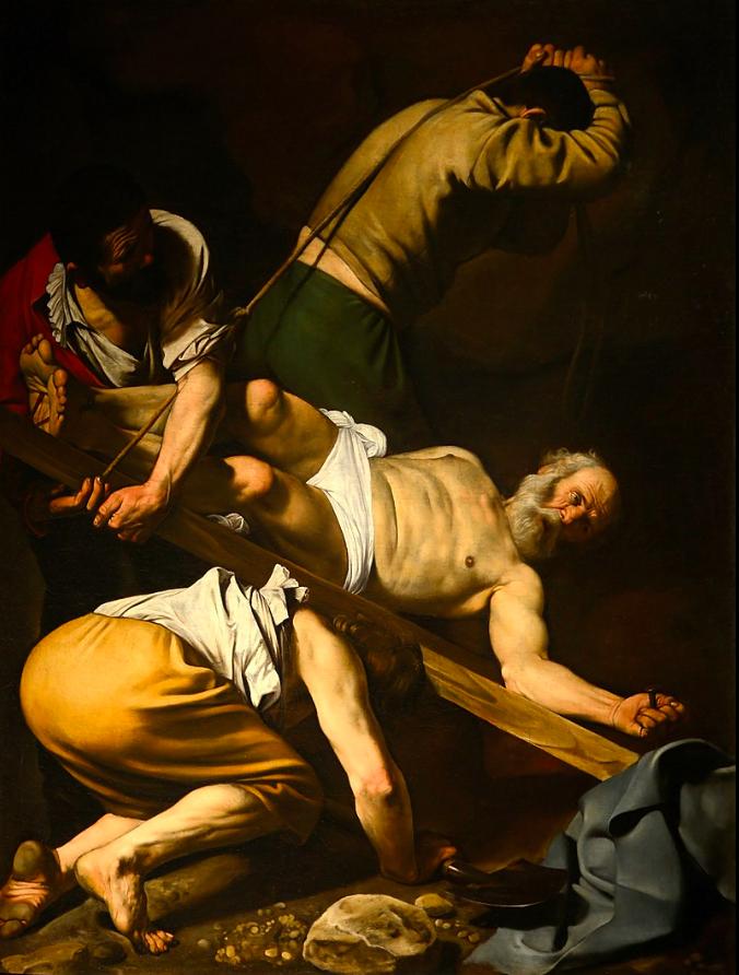 CARAVAGGIO The Crucifixion of Saint Peter 1601
