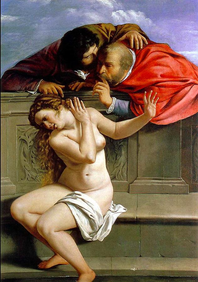 GENTILESCHI Susanna and the Elders 1610