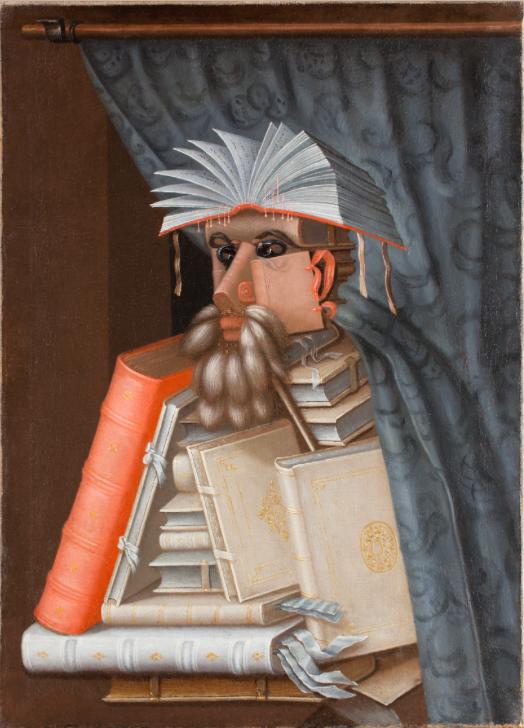 ARCHIMBOLDO The Librarian 1562