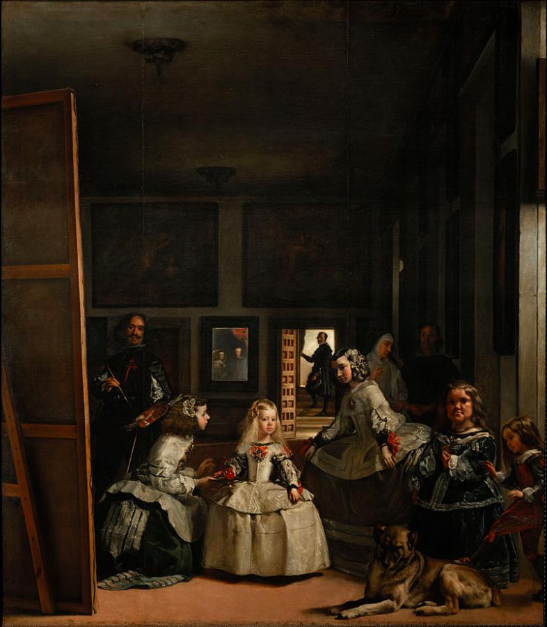 VELASQUEZ Las Meninas 1656