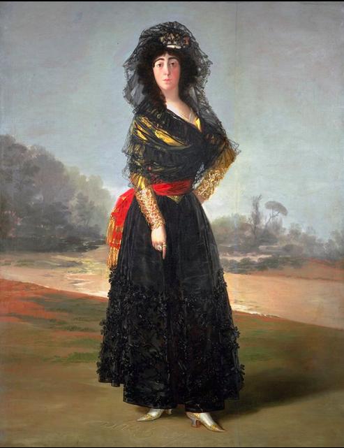 GOYA Duchess of Alba 1797