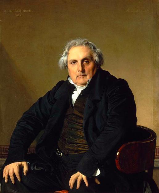 INGRES Portrait of Monsieur Bertin 1832