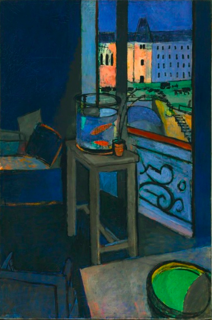 MATISSE Interior With a Goldfish Bowl 1914