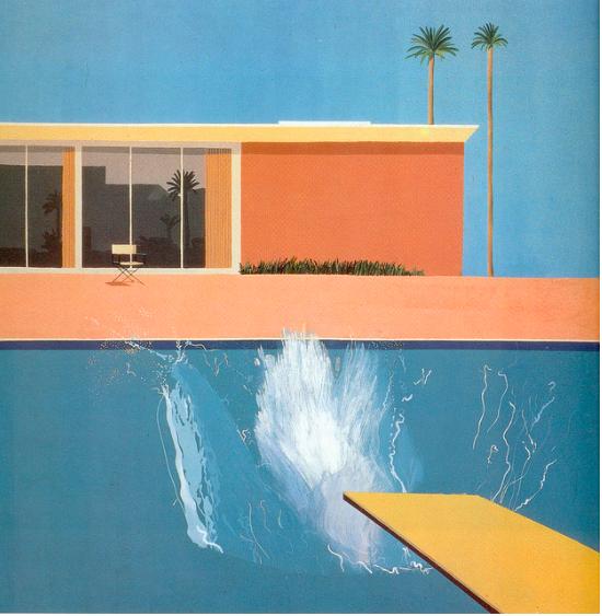 HOCKNEY A Bigger Splash 1967